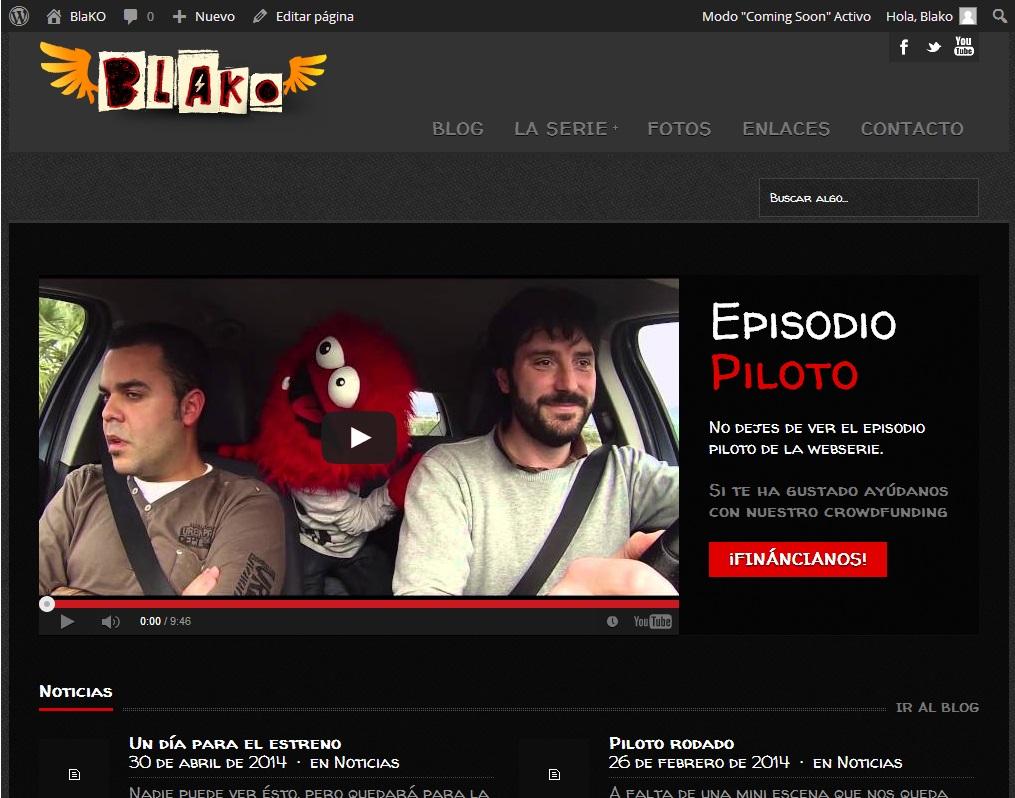 Un día para el estreno de BlaKO